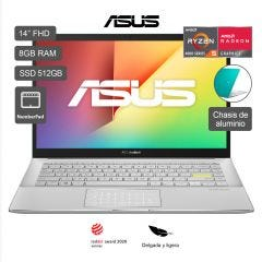 "Laptop Asus Vivobook M433IA-EB197TS 14"" AMD Ryzen 5 4500U 512GB SSD 8GB RAM"