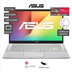 "Laptop Asus Vivobook M433IA-EB318TS 14"" AMD Ryzen 5 4500U 512GB SSD 8GB RAM"