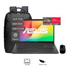 """Laptop Asus M513IA-BQ607T 15.6"""" AMDRyzen54500U 512GB SSD 8GB RAM"""