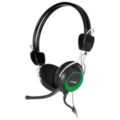 Audífono con micrófono Citrix Advance MIC H715 Verde