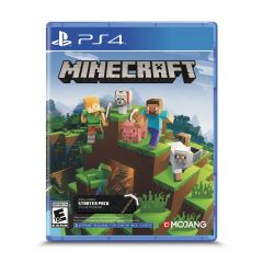 Videojuego Minecraft Bedrock Strater Collect PS4