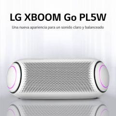 Parlante Bluetooth Portátil LG XBOOM PL5 Blanco (2020)