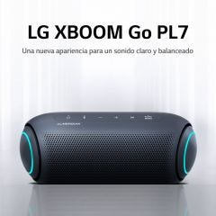 Parlante Bluetooth Portátil LG XBOOM Go PL7 Negro (2020)
