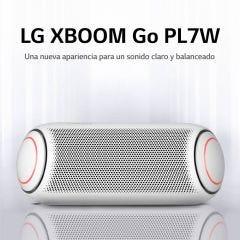 Parlante Bluetooth Portátil LG XBOOM Go PL7W Blanco (2020)