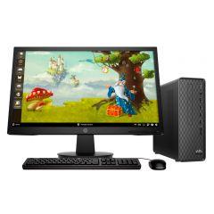Desktop HP Slim S01-pF1004bla Intel Core i3-10100 1TB HDD 4GB RAM