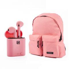 Tweaker Pink + Mochila Stereo Pink Gratis