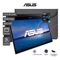Laptop Asus Zenbook Flip S 13.3'' UX371EA Intel Core i7-1165G7 1TB SSD 16GB RAM