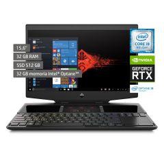 "Laptop Omen X 15-dg0001la 15.6"" Intel Core i9 9880H 512GB SSD 32GB RAM"