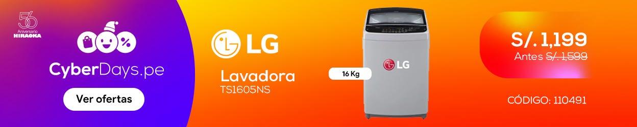 Lavadora Winia WLA-195ECG 9.5kg